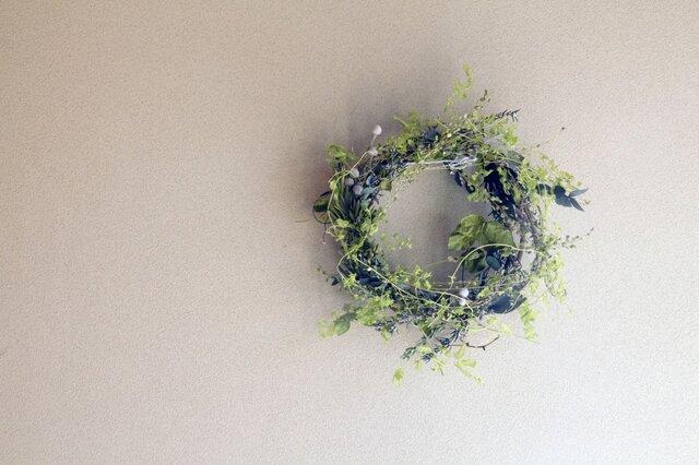 little leafy wreath 2の画像1枚目