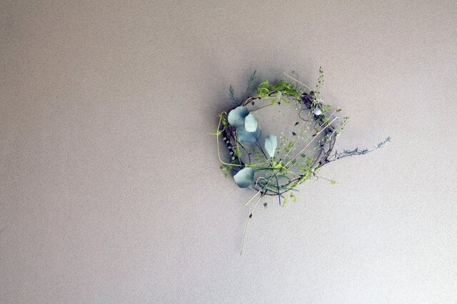little leafy wreath 4の画像1枚目