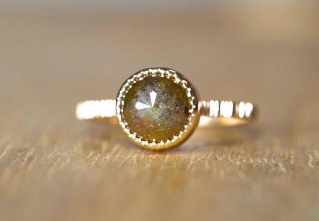 Green Earth Diamond Ringの画像1枚目