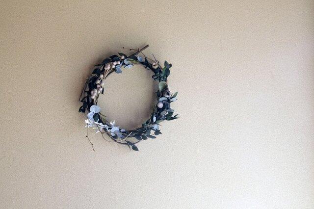 little leafy wreath 8の画像1枚目