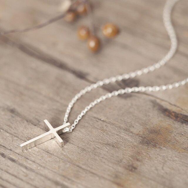 Classic 十字架 ネックレス シルバー925の画像1枚目