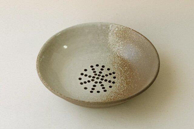 黒陶水切り中鉢の画像1枚目