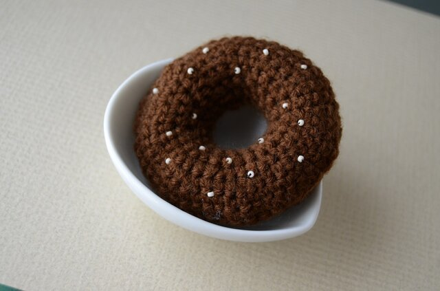 ダブルショコラドーナツ バッジの画像1枚目