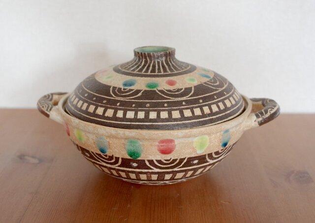 モヨウ土鍋の画像1枚目
