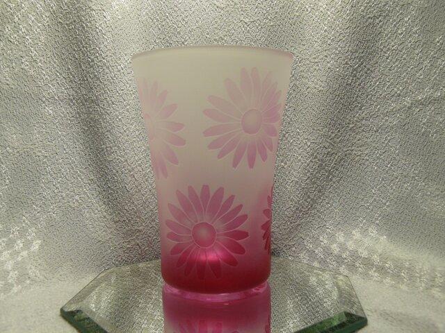 ピンクマーガレット の タンブラー B (1個)の画像1枚目
