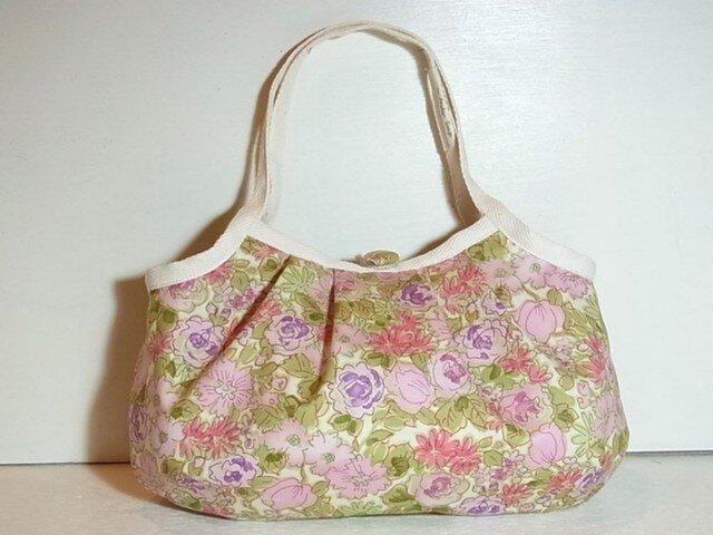 小さめグラニーバッグ「初夏の花畑」の画像1枚目