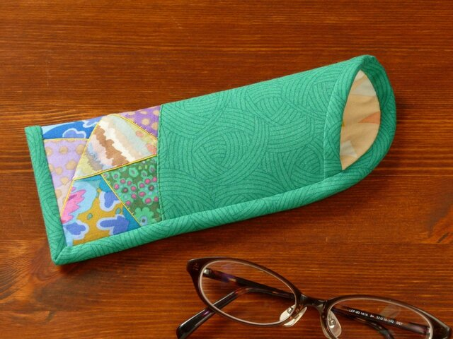 メガネケース(薄型) ~笹舟にのって~の画像1枚目