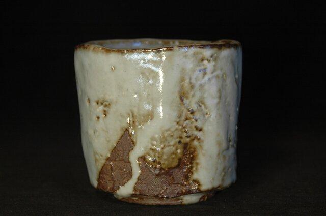 66、白萩刳り貫き筒茶碗の画像1枚目