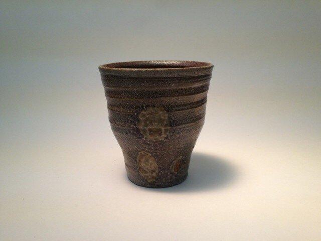 から松焼 自然釉焼酎カップ1の画像1枚目