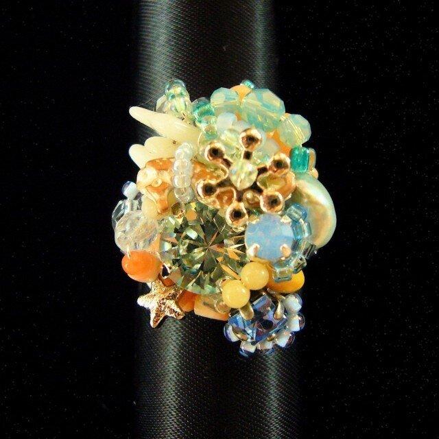 人魚の海のリング(no-368)の画像1枚目