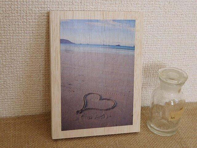 木製アートフォトパネル 002の画像1枚目