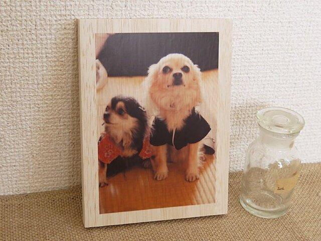 木製アートフォトパネル 004の画像1枚目