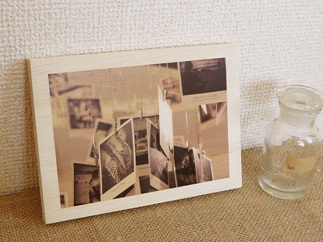 木製アートフォトパネル 013の画像1枚目