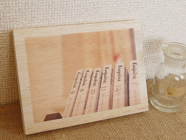 木製アートフォトパネル 014の画像1枚目