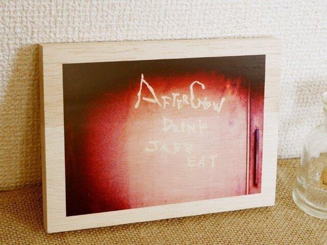 木製アートフォトパネル 017の画像1枚目