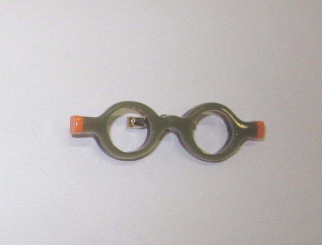 わぁ お洒落なメガネ(ブローチ)②の画像1枚目