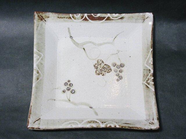正方形陶板(葡萄)の画像1枚目