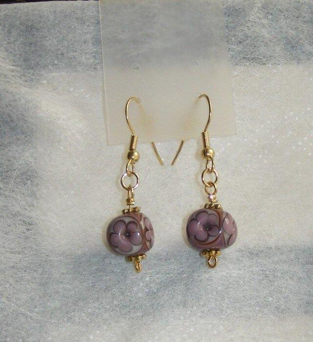 キューブピアス紫の画像1枚目
