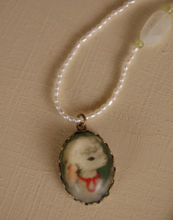 子羊ネックレスの画像1枚目