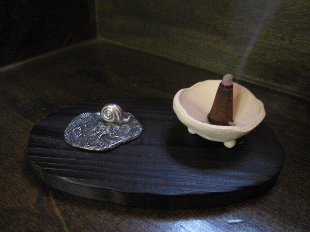 カタツムリ 香炉台の画像1枚目