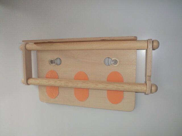 キッチンペーパーホルダー(吸盤付き)の画像1枚目