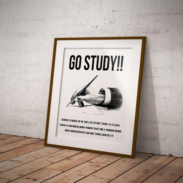 GO STUDY!! POSTERの画像1枚目