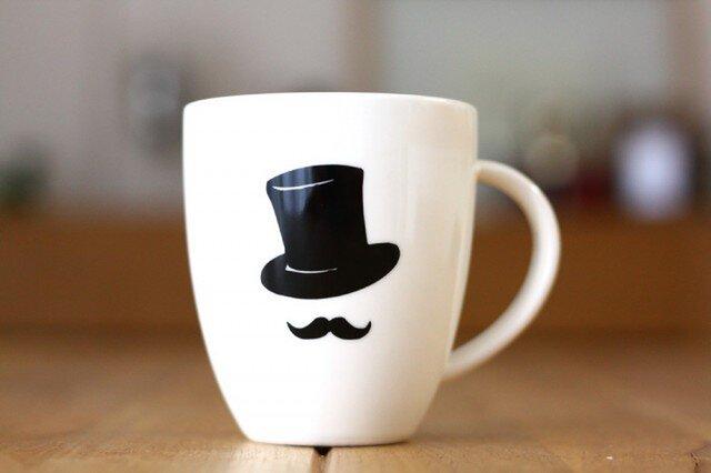 ジェントルマン  マグカップの画像1枚目