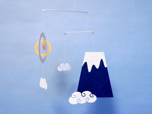 miniモビール「富士山」その5の画像1枚目