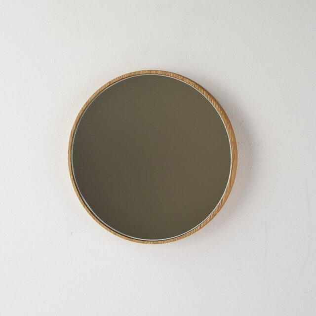 小さなならの丸鏡の画像1枚目