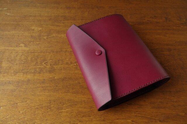 【受注生産】HOBONICHI TECHO cover(cousin size)/raspberryの画像1枚目
