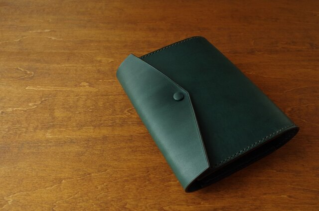 【受注生産】HOBONICHI TECHO cover(cousin size)/bluegreenの画像1枚目
