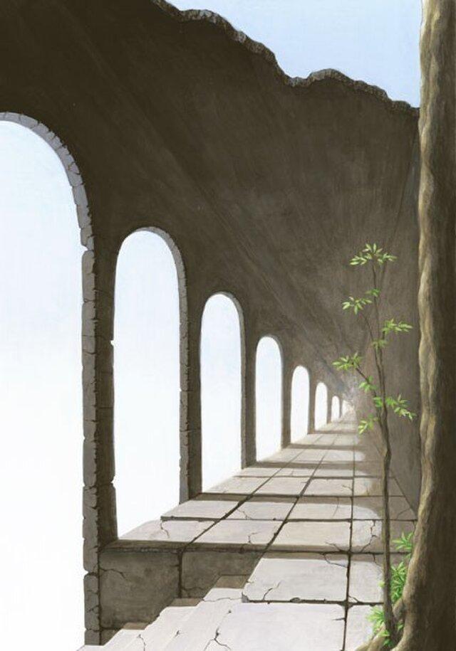 空の回廊(A4)の画像1枚目