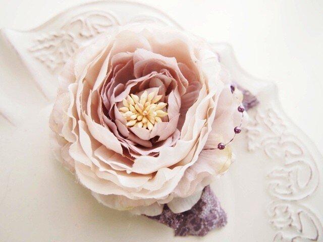 入園入学卒業、結婚式にエレガントコサージュ・ピオニーLGの画像1枚目