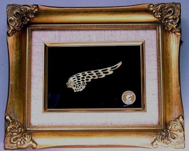 ブローチ「天使の翼」の画像1枚目