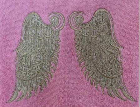 Big Wingのタッセル付きタオルの画像1枚目