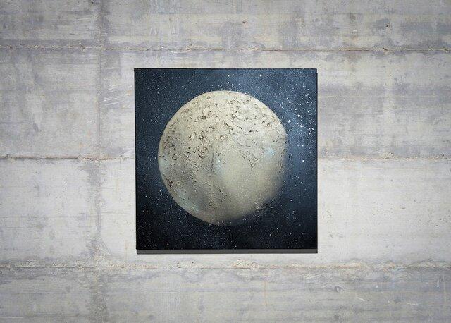 134340 Pluto / 冥王星 のスプレーアート作品。の画像1枚目