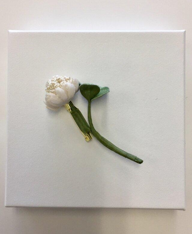 シロツメクサのブローチ ⅰの画像1枚目