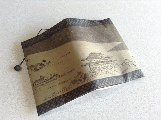 992     ★再販★    羽裏      川       文庫サイズブックカバーの画像1枚目