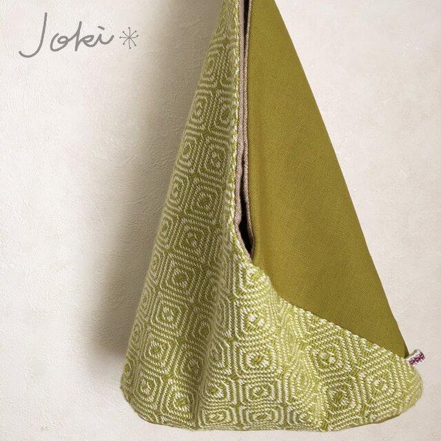 手織り あずま袋ミニバックの画像1枚目