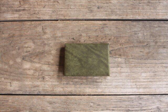 カード(名刺)入れ [facile] oliveの画像1枚目