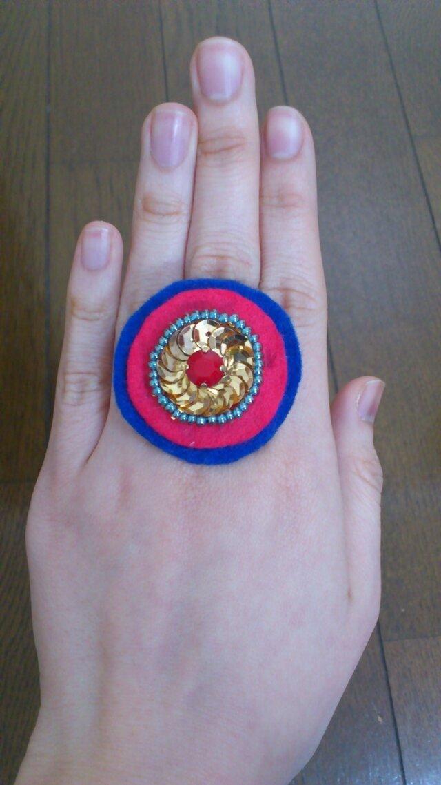 丸い指輪の画像1枚目