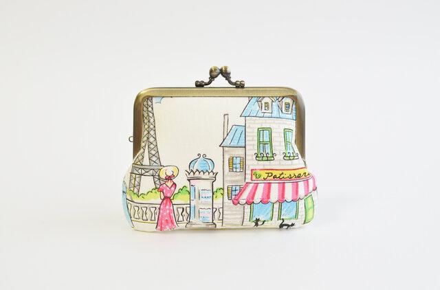 *Import* Paris Cafe レトロながまぐち [837]の画像1枚目