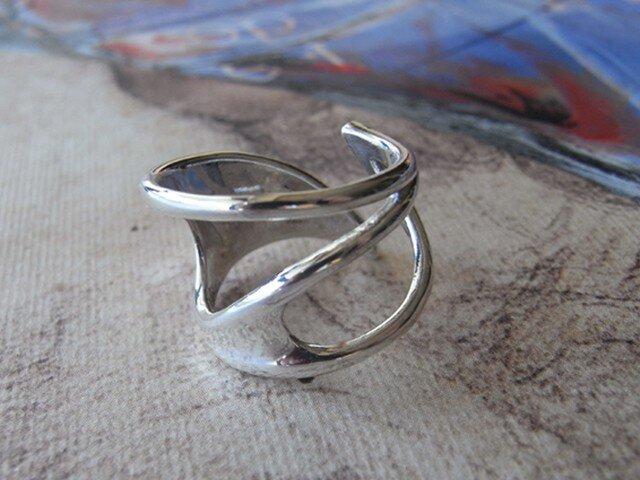リーフデザインのリング【受注制作】の画像1枚目