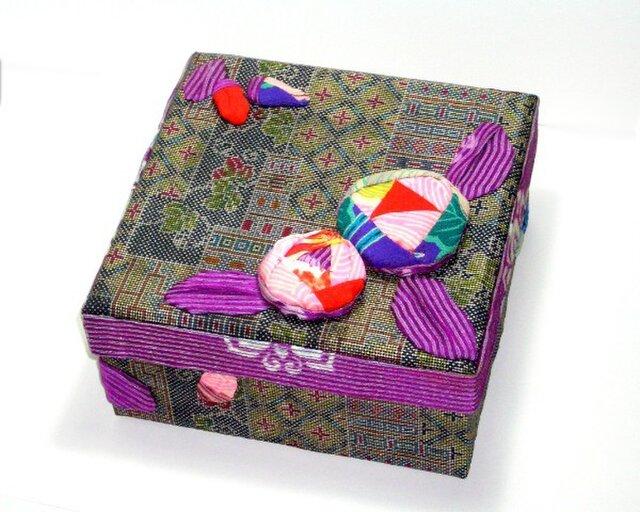 飾り箱 ー和バラーの画像1枚目