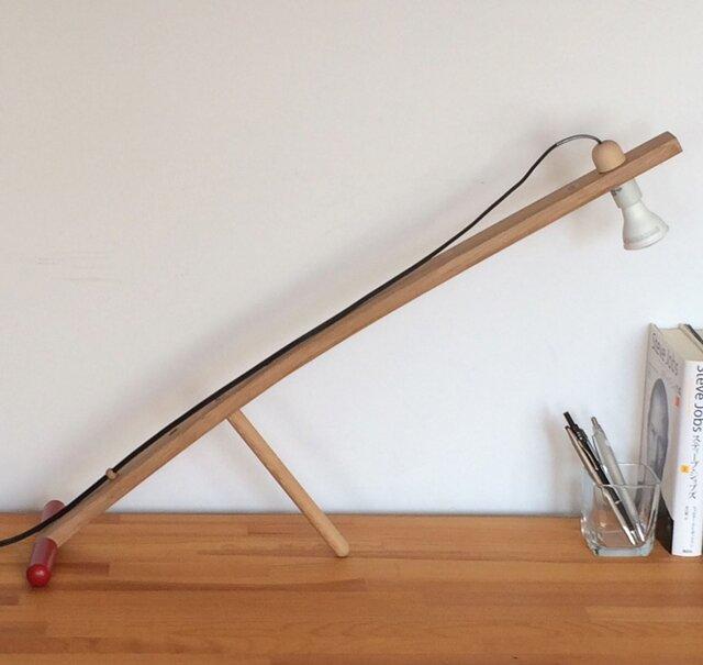 <ウイスキー樽からの贈り物> デスクランプ DL-1 Arm Lampの画像1枚目