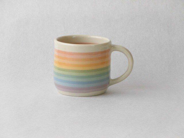 練り込み 虹のマグカップ MN-1 の画像1枚目