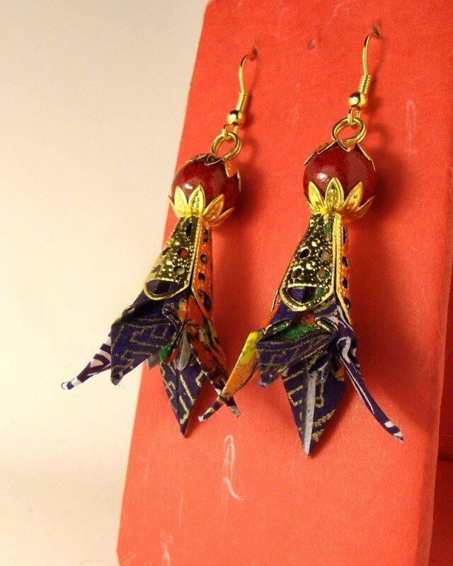 オリガミピアス華・菖蒲(Iris 05I3C)の画像1枚目