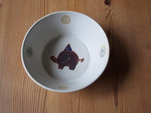 ゾウの深鉢の画像1枚目