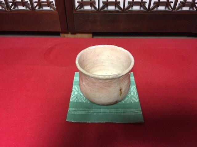 抹茶茶碗 (志野焼)の画像1枚目