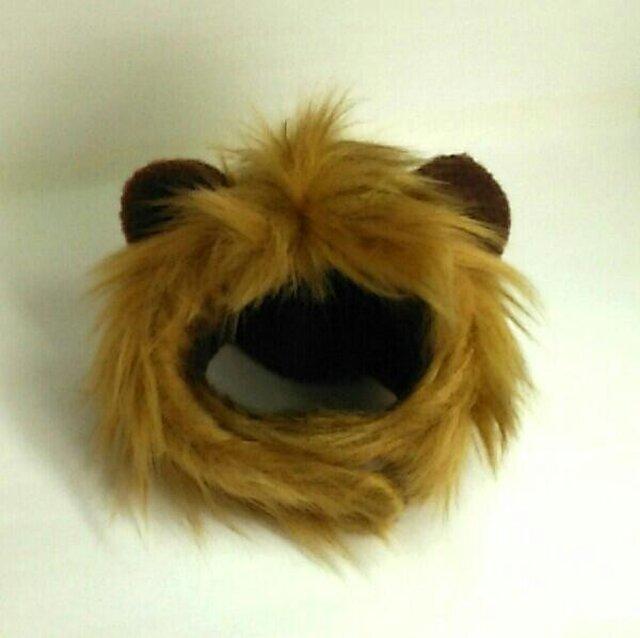 ライオンのかぶりもの(帽子)【S/M/L】の画像1枚目
